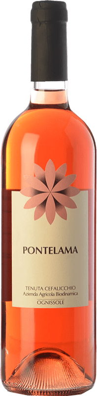14,95 € Envío gratis | Vino rosado Ognissole Pontelama D.O.C. Castel del Monte Puglia Italia Nero di Troia Botella 75 cl