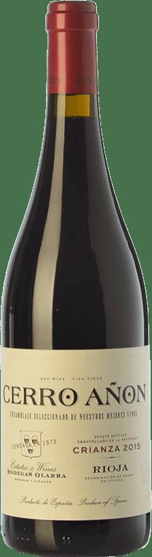 11,95 € Envoi gratuit | Vin rouge Olarra Cerro Añón Crianza D.O.Ca. Rioja La Rioja Espagne Tempranillo, Grenache, Graciano, Mazuelo Bouteille 75 cl