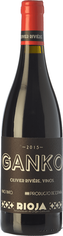 39,95 € | Red wine Olivier Rivière Ganko Crianza D.O.Ca. Rioja The Rioja Spain Grenache, Mazuelo Bottle 75 cl