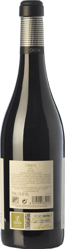 19,95 € | Red wine Orben Crianza D.O.Ca. Rioja The Rioja Spain Tempranillo, Graciano Bottle 75 cl