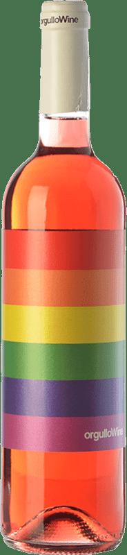 8,95 € | Rosé wine Orgullo Wine I.G.P. Vino de la Tierra de Castilla Castilla la Mancha Spain Syrah Bottle 75 cl