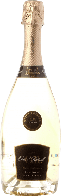 27,95 € Envoi gratuit | Blanc moussant Oriol Rossell Reserva de la Propietat Brut Nature Reserva D.O. Cava Catalogne Espagne Macabeo, Xarel·lo, Parellada Bouteille 75 cl