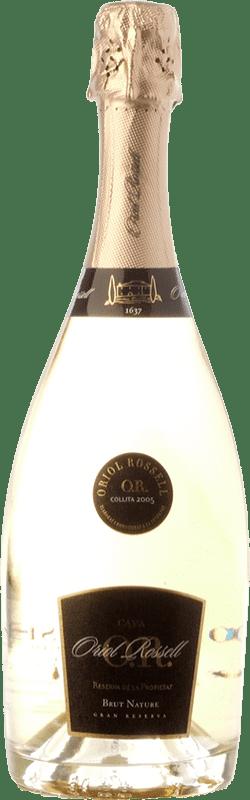 27,95 € | White sparkling Oriol Rossell Reserva de la Propietat Brut Nature Reserva D.O. Cava Catalonia Spain Macabeo, Xarel·lo, Parellada Bottle 75 cl