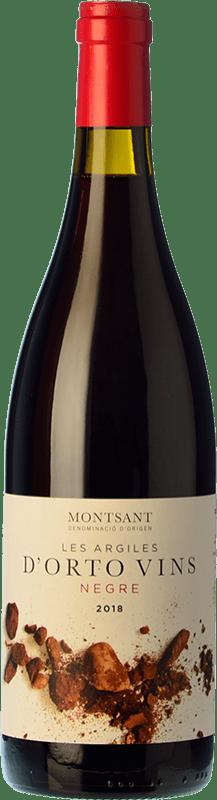 9,95 € | Red wine Orto Les Argiles Negre Joven D.O. Montsant Catalonia Spain Grenache, Carignan Bottle 75 cl