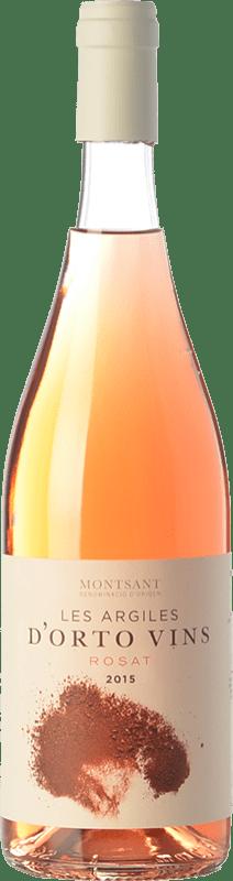 9,95 € | Rosé wine Orto Les Argiles Rosat D.O. Montsant Catalonia Spain Grenache Bottle 75 cl