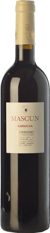 12,95 € Free Shipping | Red wine Osca Mascún Crianza D.O. Somontano Aragon Spain Grenache Bottle 75 cl