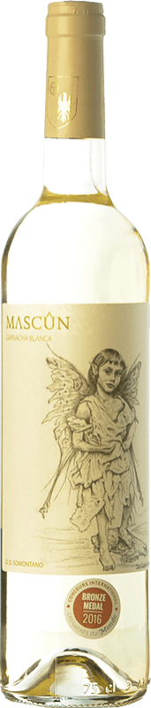 7,95 € Free Shipping | White wine Osca Mascún D.O. Somontano Aragon Spain Grenache White Bottle 75 cl