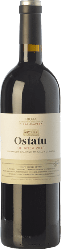 22,95 € | Red wine Ostatu Crianza D.O.Ca. Rioja The Rioja Spain Tempranillo Magnum Bottle 1,5 L