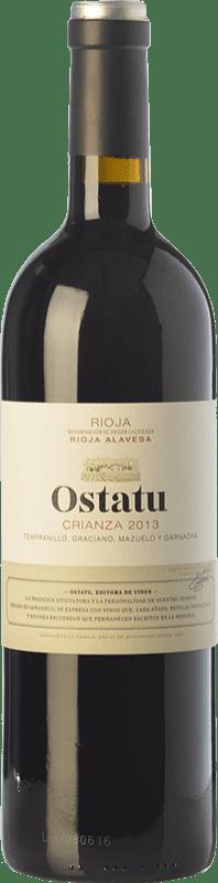 22,95 € Envío gratis   Vino tinto Ostatu Crianza D.O.Ca. Rioja La Rioja España Tempranillo Botella Mágnum 1,5 L