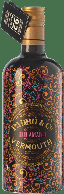 19,95 € 免费送货 | 苦艾酒 Padró Rojo Amargo 加泰罗尼亚 西班牙 瓶子 70 cl