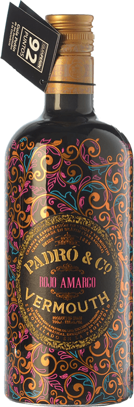 19,95 € | Vermouth Padró Rojo Amargo Catalonia Spain Bottle 70 cl