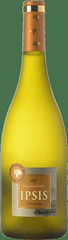 8,95 € Envío gratis | Vino blanco Padró Ipsis D.O. Tarragona Cataluña España Chardonnay Botella 75 cl