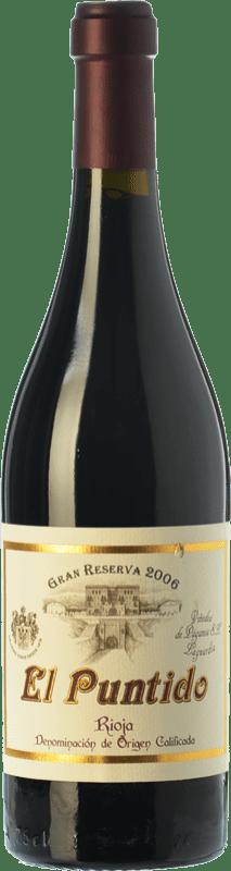 59,95 € Envoi gratuit | Vin rouge Páganos El Puntido Gran Reserva 2007 D.O.Ca. Rioja La Rioja Espagne Tempranillo Bouteille 75 cl