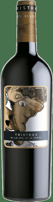5,95 € Envío gratis | Vino tinto Casa del Blanco Tristrás Joven I.G.P. Vino de la Tierra de Castilla Castilla la Mancha España Syrah Botella 75 cl