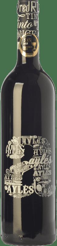 11,95 € Free Shipping | Red wine Pago de Aylés A Joven D.O.P. Vino de Pago Aylés Aragon Spain Tempranillo, Merlot, Grenache, Cabernet Sauvignon Bottle 75 cl