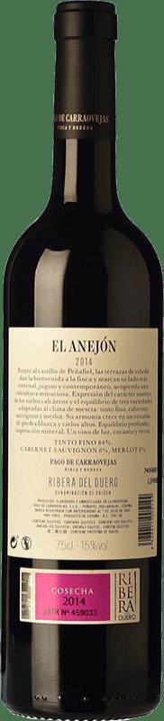74,95 € Free Shipping   Red wine Pago de Carraovejas El Anejón D.O. Ribera del Duero Castilla y León Spain Tempranillo, Merlot, Cabernet Sauvignon Bottle 75 cl