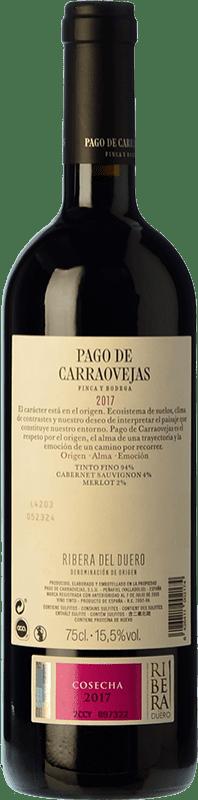 41,95 € Free Shipping | Red wine Pago de Carraovejas Crianza D.O. Ribera del Duero Castilla y León Spain Tempranillo, Merlot, Cabernet Sauvignon Bottle 75 cl