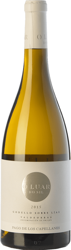 21,95 € 免费送货 | 白酒 Pago de los Capellanes O Luar Do Sil D.O. Valdeorras 加利西亚 西班牙 Godello 瓶子 75 cl