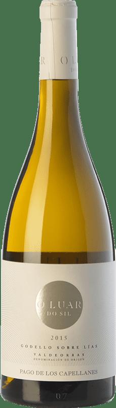 21,95 € Envoi gratuit | Vin blanc Pago de los Capellanes O Luar Do Sil D.O. Valdeorras Galice Espagne Godello Bouteille 75 cl