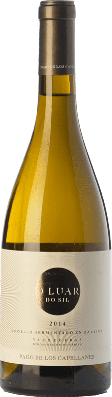 31,95 € | White wine Pago de los Capellanes O Luar Do Sil Fermentado en Barrica Crianza D.O. Valdeorras Galicia Spain Godello Bottle 75 cl