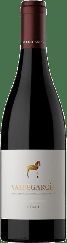 26,95 € Free Shipping | Red wine Pago de Vallegarcía Crianza I.G.P. Vino de la Tierra de Castilla Castilla la Mancha Spain Syrah Bottle 75 cl