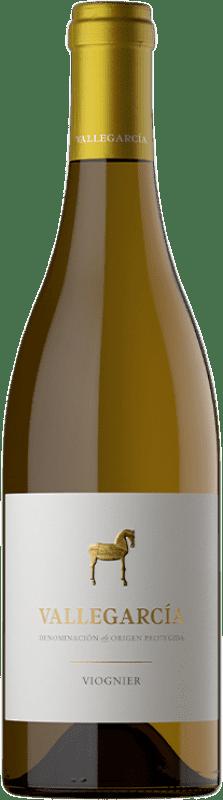 19,95 € Free Shipping | White wine Pago de Vallegarcía Crianza I.G.P. Vino de la Tierra de Castilla Castilla la Mancha Spain Viognier Bottle 75 cl