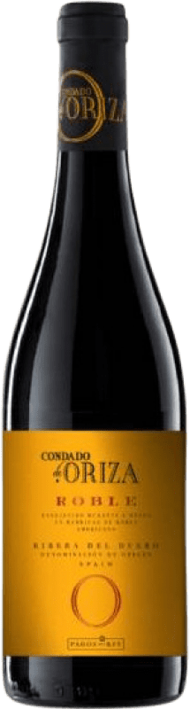 8,95 € Free Shipping | Red wine Pagos del Rey Condado de Oriza Roble D.O. Ribera del Duero Castilla y León Spain Tempranillo Bottle 75 cl
