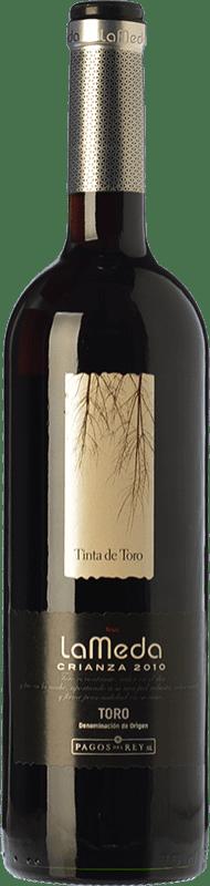 6,95 € Free Shipping | Red wine Pagos del Rey Finca La Meda Crianza D.O. Toro Castilla y León Spain Tempranillo Bottle 75 cl