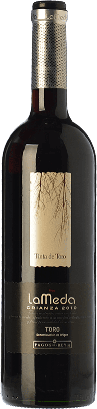 6,95 € Envío gratis | Vino tinto Pagos del Rey Finca La Meda Crianza D.O. Toro Castilla y León España Tempranillo Botella 75 cl
