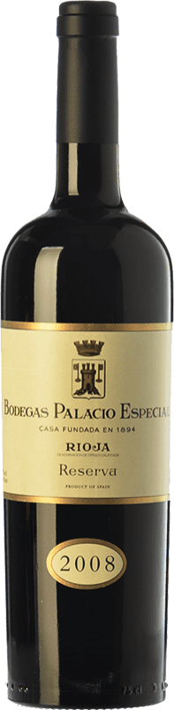 41,95 € Free Shipping | Red wine Palacio Especial Reserva D.O.Ca. Rioja The Rioja Spain Tempranillo Bottle 75 cl