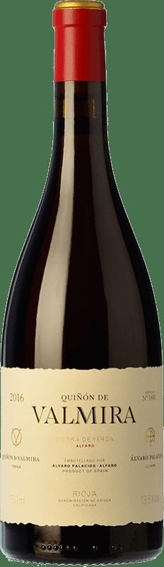 437,95 € Envío gratis | Vino tinto Palacios Remondo Quiñón de Valmira Crianza D.O.Ca. Rioja La Rioja España Garnacha Botella 75 cl