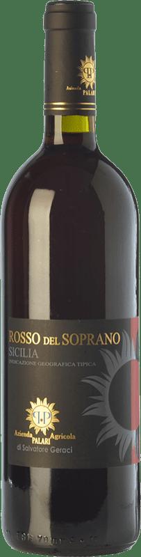 19,95 € Free Shipping | Red wine Palari Rosso del Soprano I.G.T. Terre Siciliane Sicily Italy Nerello Mascalese, Nerello Cappuccio, Nocera, Galatena Bottle 75 cl