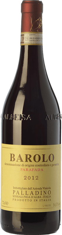 45,95 € Free Shipping | Red wine Palladino Parafada D.O.C.G. Barolo Piemonte Italy Nebbiolo Bottle 75 cl