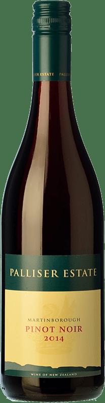 47,95 € | Red wine Palliser Estate Crianza I.G. Martinborough Martinborough New Zealand Pinot Black Bottle 75 cl