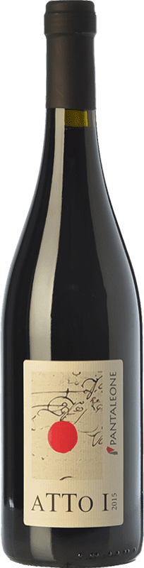 14,95 € Free Shipping | Red wine Pantaleone Atto I I.G.T. Marche Marche Italy Sangiovese Bottle 75 cl