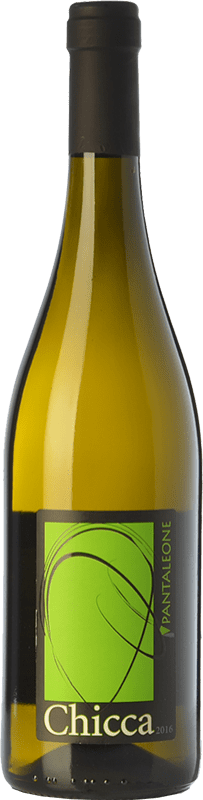 12,95 € Free Shipping | White wine Pantaleone Chicca I.G.T. Marche Marche Italy Passerina Bottle 75 cl
