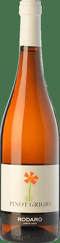 11,95 € Free Shipping | White wine Paolo Rodaro Pinot Grigio D.O.C. Colli Orientali del Friuli Friuli-Venezia Giulia Italy Pinot Grey Bottle 75 cl