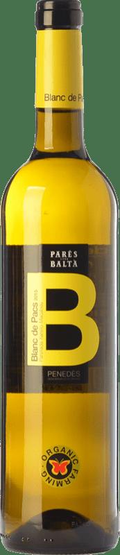 9,95 € 免费送货 | 白酒 Parés Baltà Blanc de Pacs D.O. Penedès 加泰罗尼亚 西班牙 Macabeo, Xarel·lo, Parellada 瓶子 75 cl