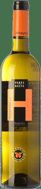 9,95 € 免费送货 | 白酒 Parés Baltà Honeymoon D.O. Penedès 加泰罗尼亚 西班牙 Parellada 瓶子 75 cl