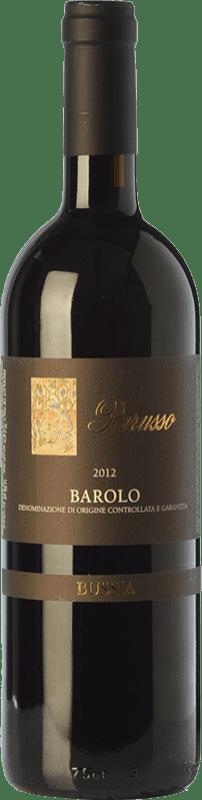 92,95 € | Red wine Parusso Bussia D.O.C.G. Barolo Piemonte Italy Nebbiolo Bottle 75 cl