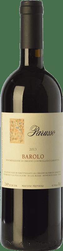 43,95 € | Red wine Parusso D.O.C.G. Barolo Piemonte Italy Nebbiolo Bottle 75 cl