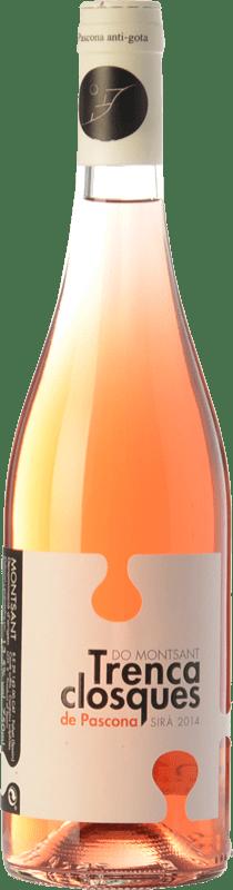 12,95 € Free Shipping | Rosé wine Pascona Trencaclosques D.O. Montsant Catalonia Spain Syrah Bottle 75 cl