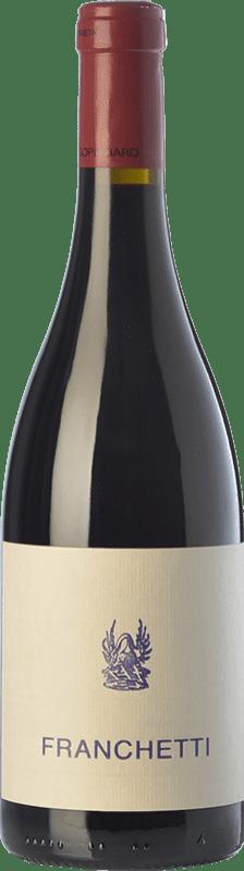 102,95 € Free Shipping | Red wine Passopisciaro Franchetti I.G.T. Terre Siciliane Sicily Italy Petit Verdot, Cesanese di Affile Bottle 75 cl