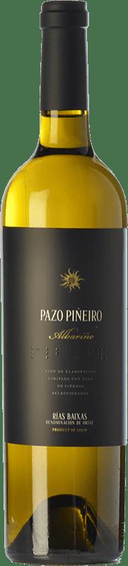 25,95 € Free Shipping | White wine Lusco Pazo Piñeiro D.O. Rías Baixas Galicia Spain Albariño Bottle 75 cl