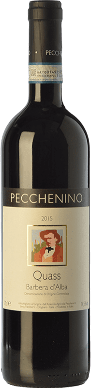 17,95 € | Red wine Pecchenino Quass D.O.C. Barbera d'Alba Piemonte Italy Barbera Bottle 75 cl