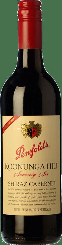 17,95 € Envío gratis | Vino tinto Penfolds Koonunga Hill Seventy Six Joven I.G. Southern Australia Southern Australia Australia Syrah, Cabernet Sauvignon Botella 75 cl