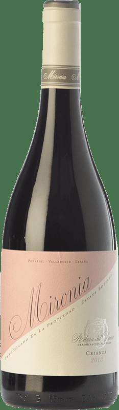 12,95 € | Red wine Peñafiel Mironia Crianza D.O. Ribera del Duero Castilla y León Spain Tempranillo Bottle 75 cl