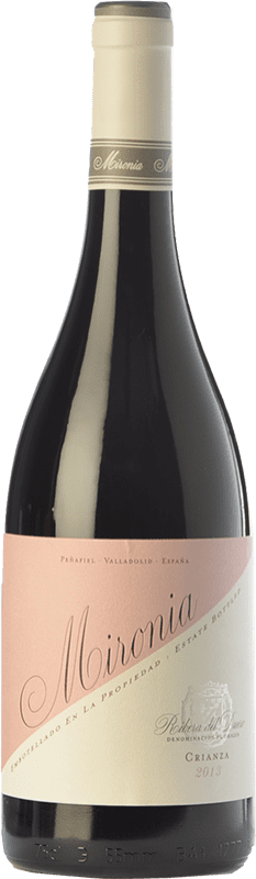15,95 € Envío gratis | Vino tinto Peñafiel Mironia Crianza D.O. Ribera del Duero Castilla y León España Tempranillo Botella 75 cl
