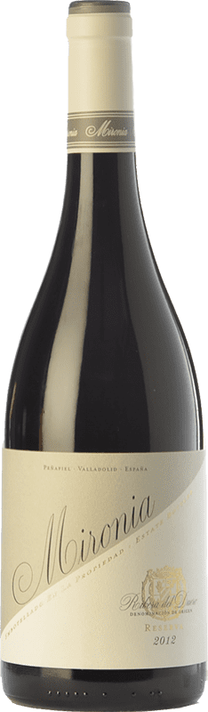 24,95 € Envoi gratuit | Vin rouge Peñafiel Mironia Reserva D.O. Ribera del Duero Castille et Leon Espagne Tempranillo Bouteille 75 cl