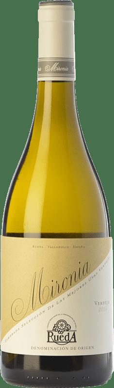 8,95 € | White wine Peñafiel Mironia D.O. Rueda Castilla y León Spain Verdejo Bottle 75 cl